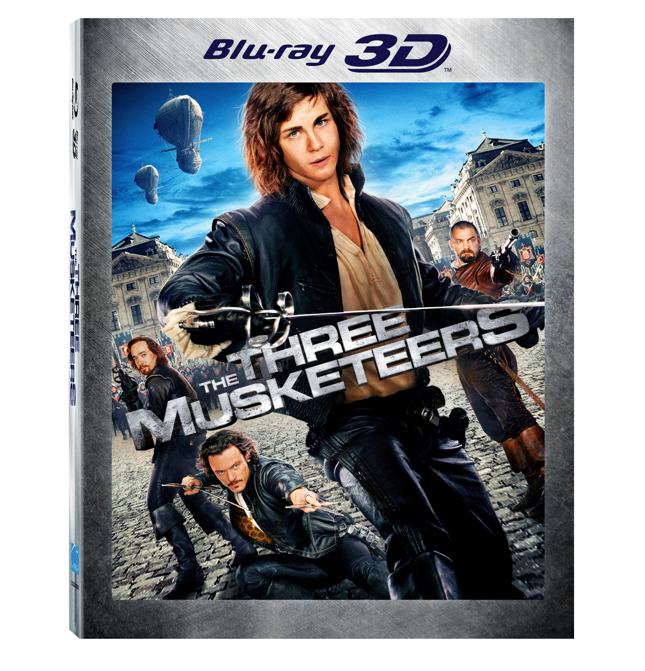 The Three Musketeers 3D (Blu-ray Disc)