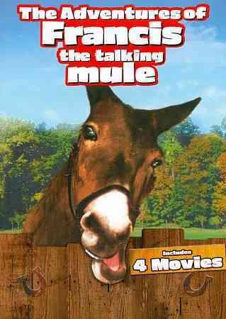The Adventures Of Francis The Talking Mule (DVD)