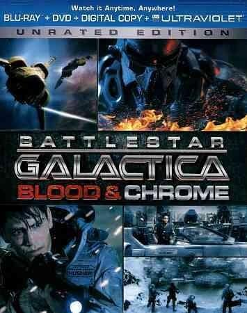Battlestar Galactica: Blood & Chrome (Blu-ray/DVD)