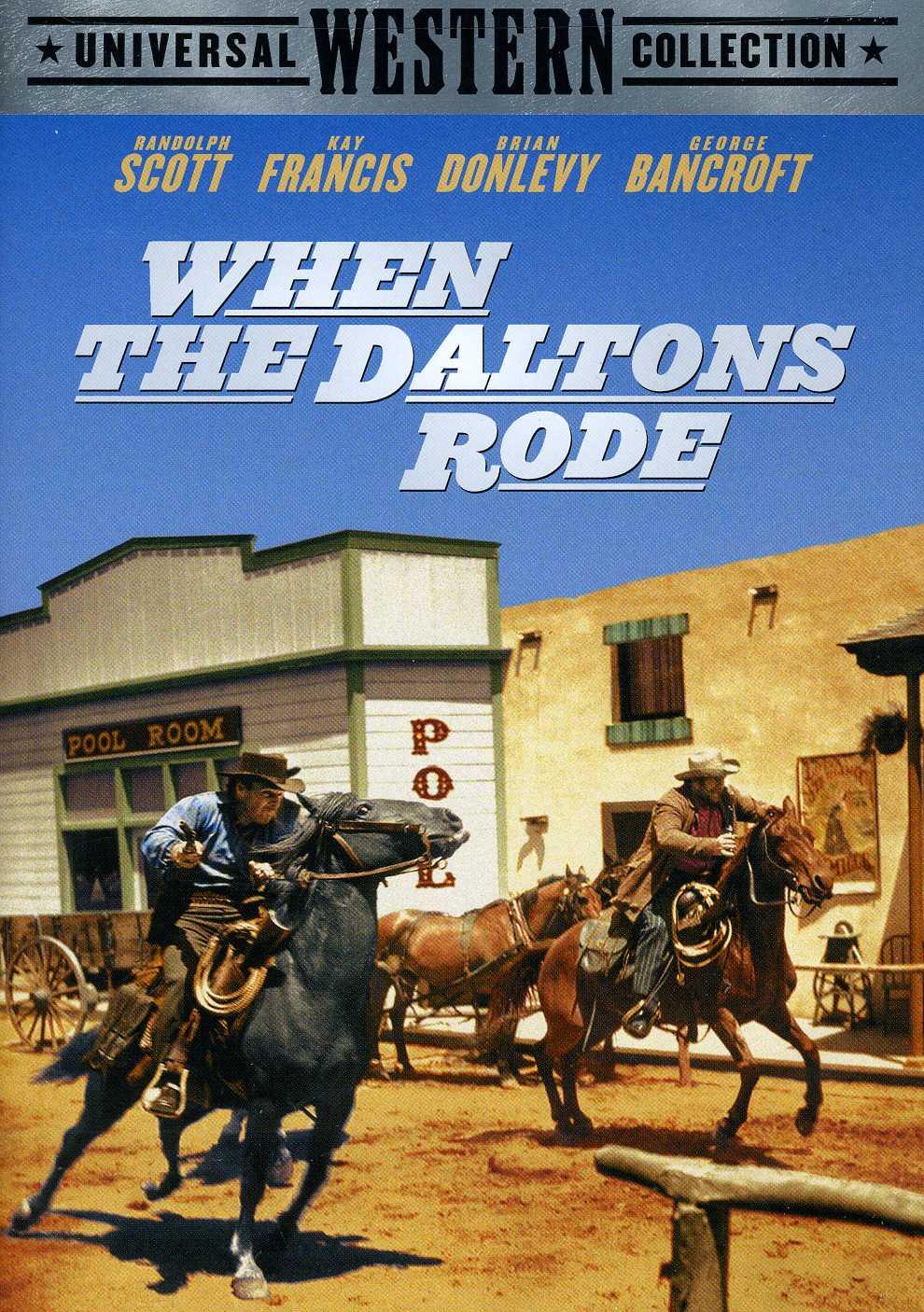 When The Daltons Rode (DVD)