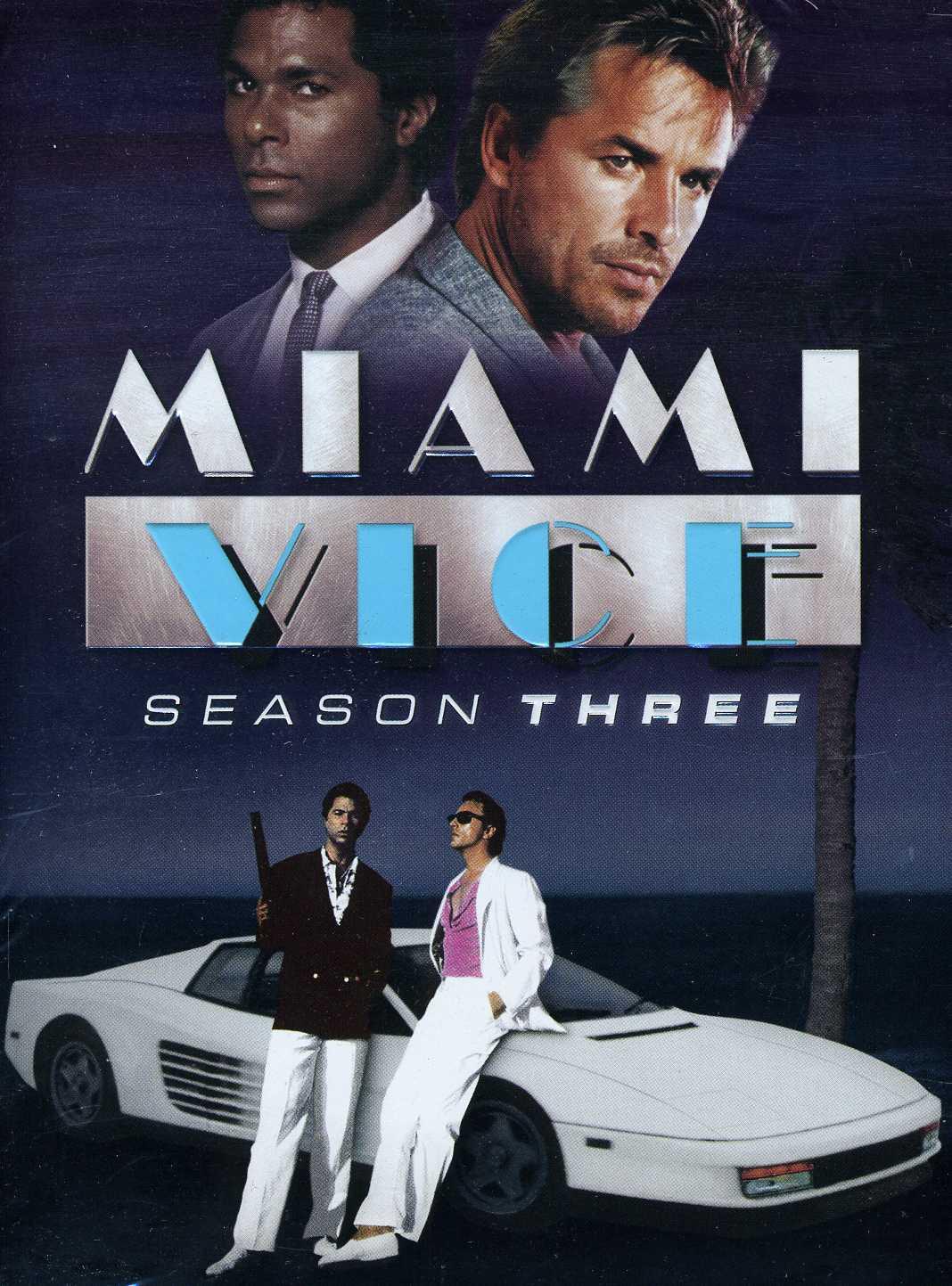 Miami Vice: Season Three (DVD)