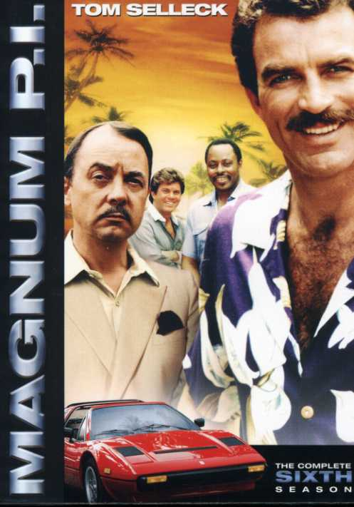 Magnum P.I.: The Complete Sixth Season (DVD)