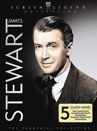 James Stewart: Screen Legend Collection (DVD)