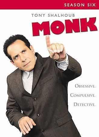 Monk: Season Six (DVD)
