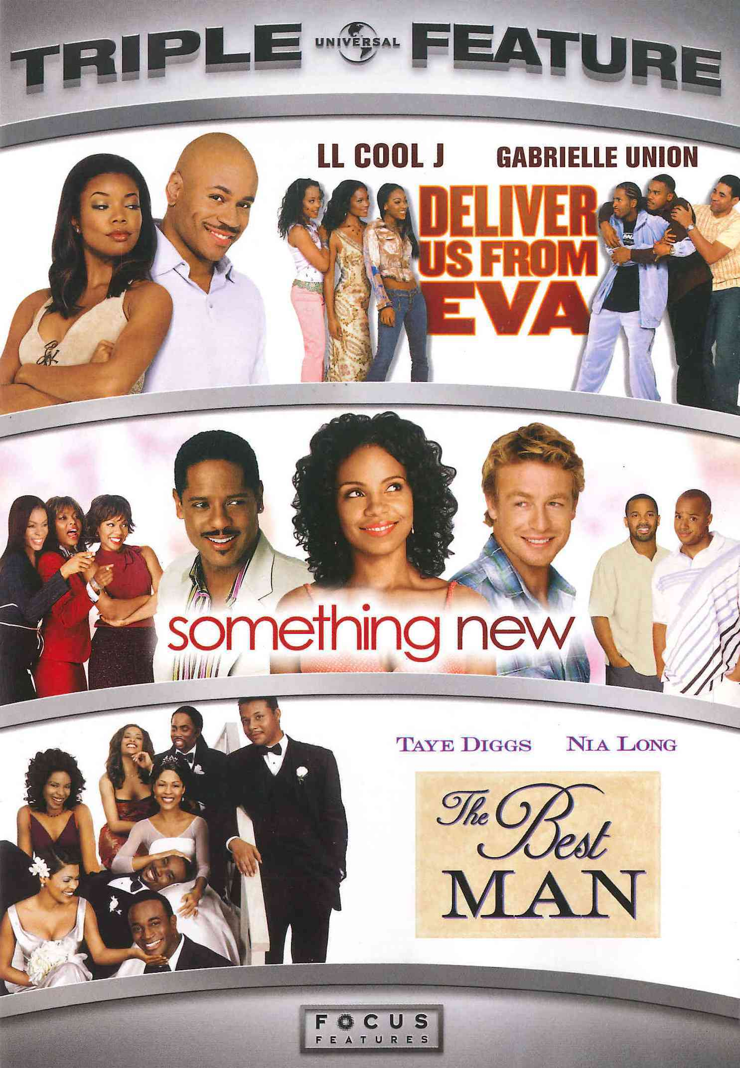 Deliver Us From Eva/Something New/The Best Man (DVD)