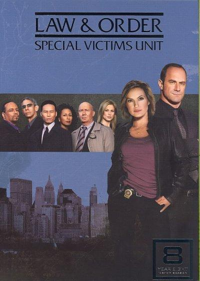 Law & Order: Special Victims Unit Season 8 (DVD) - Thumbnail 0