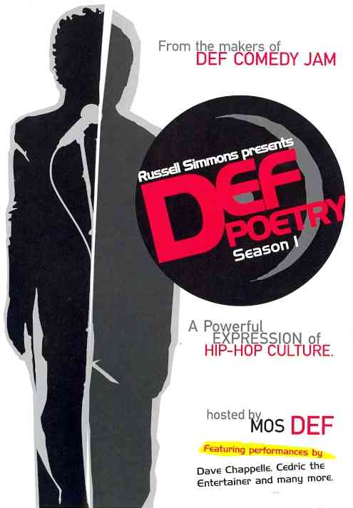 Russell Simmons Presents Def Poetry Season 1 (DVD)