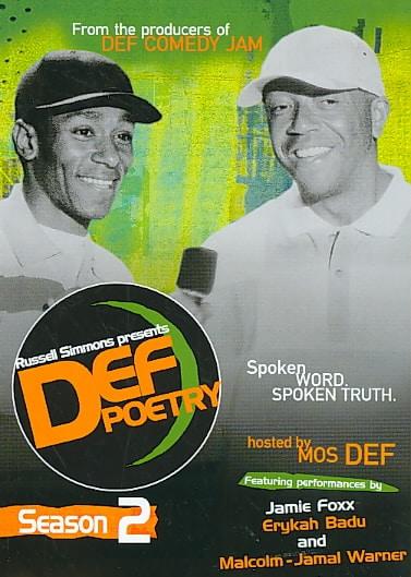 Russell Simmons Presents Def Poetry Season 2 (DVD)