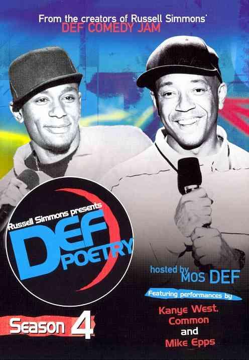Russell Simmons Presents Def Poetry Season 4 (DVD)