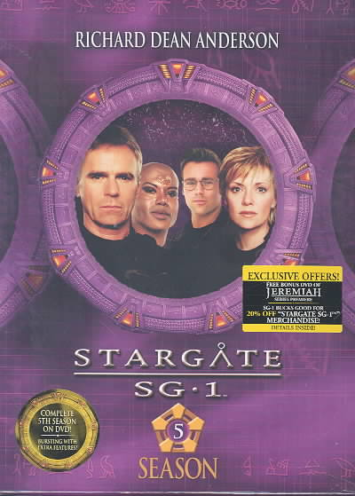 Stargate SG-1: Season 5 Gift Set (DVD)