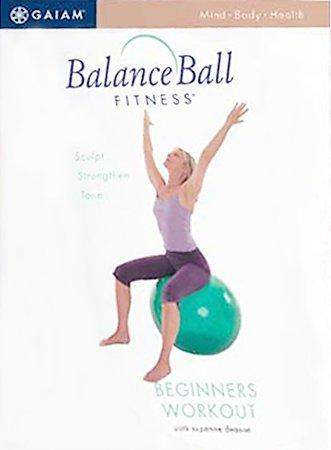 Balance Ball For Beginners (DVD)