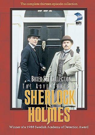Adventures Of Sherlock Holmes Box Set (DVD)