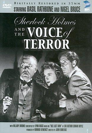 Sherlock Holmes: The Voice of Terror (DVD)
