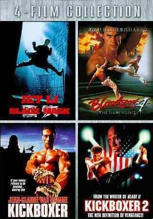 Black Mask/Bloodsport 4/Kickboxer/American Kickboxer 2 (DVD)
