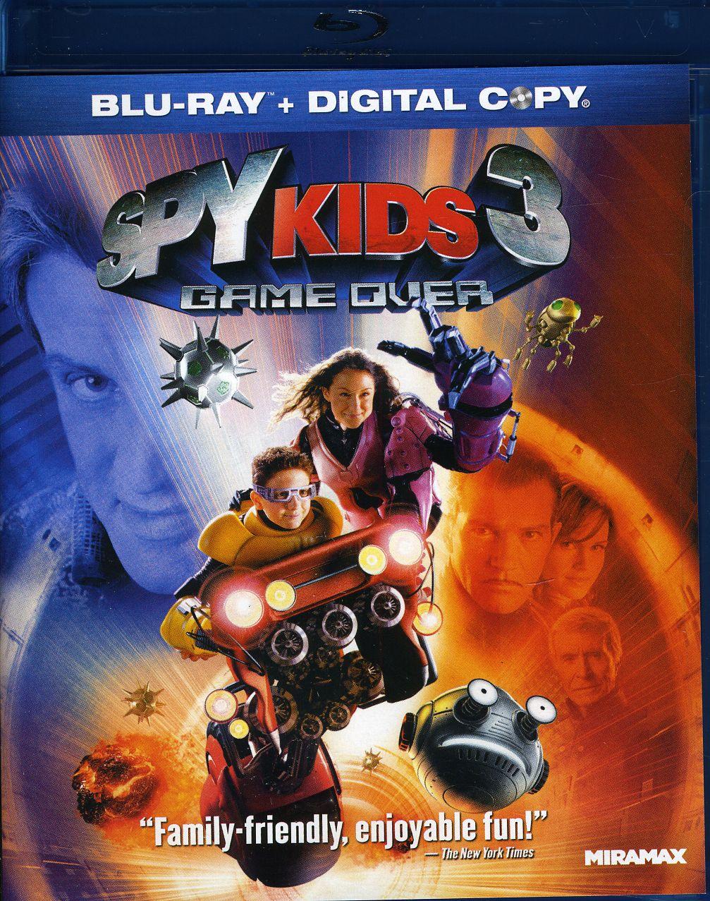 Spy Kids 3: Game Over (Blu-ray Disc)