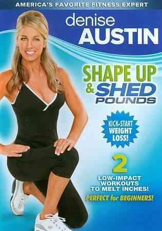 Denise Austin: Shape Up And Shed Pounds (DVD)