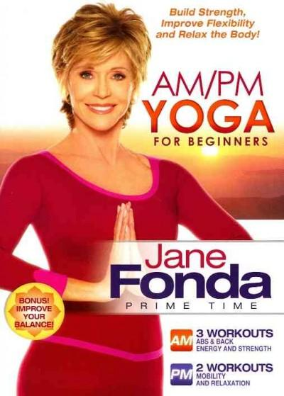 Jane Fonda AM/PM Yoga For Beginners (DVD)