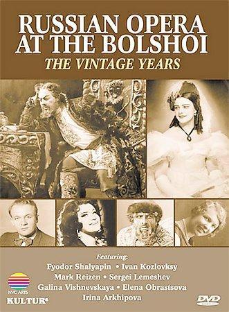 Russian Opera at the Bolshoi (DVD)