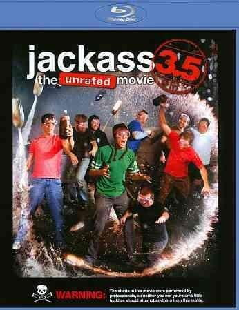 Jackass 3.5: The Unrated Movie (Blu-ray Disc)
