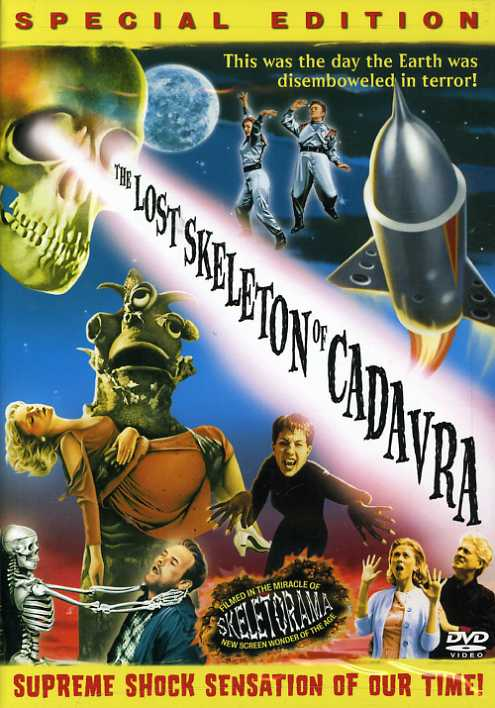 The Lost Skeleton of Cadavra (DVD)