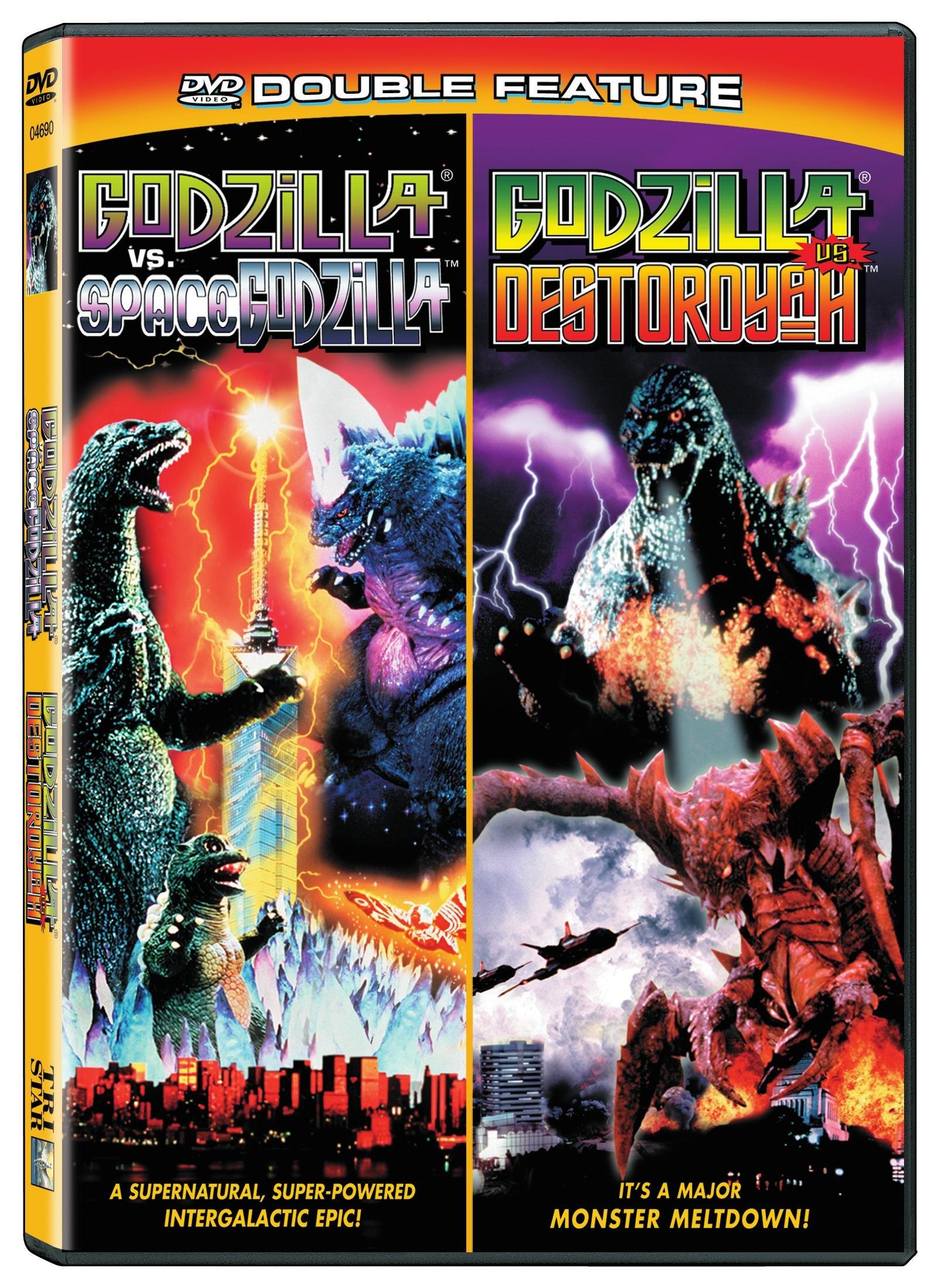 Godzilla vs. Destoroyah/Vs Spacegodzilla (DVD)