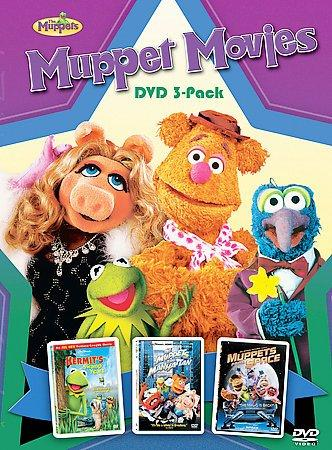 Muppets Movies Collection 3 Pack Box Set (DVD)