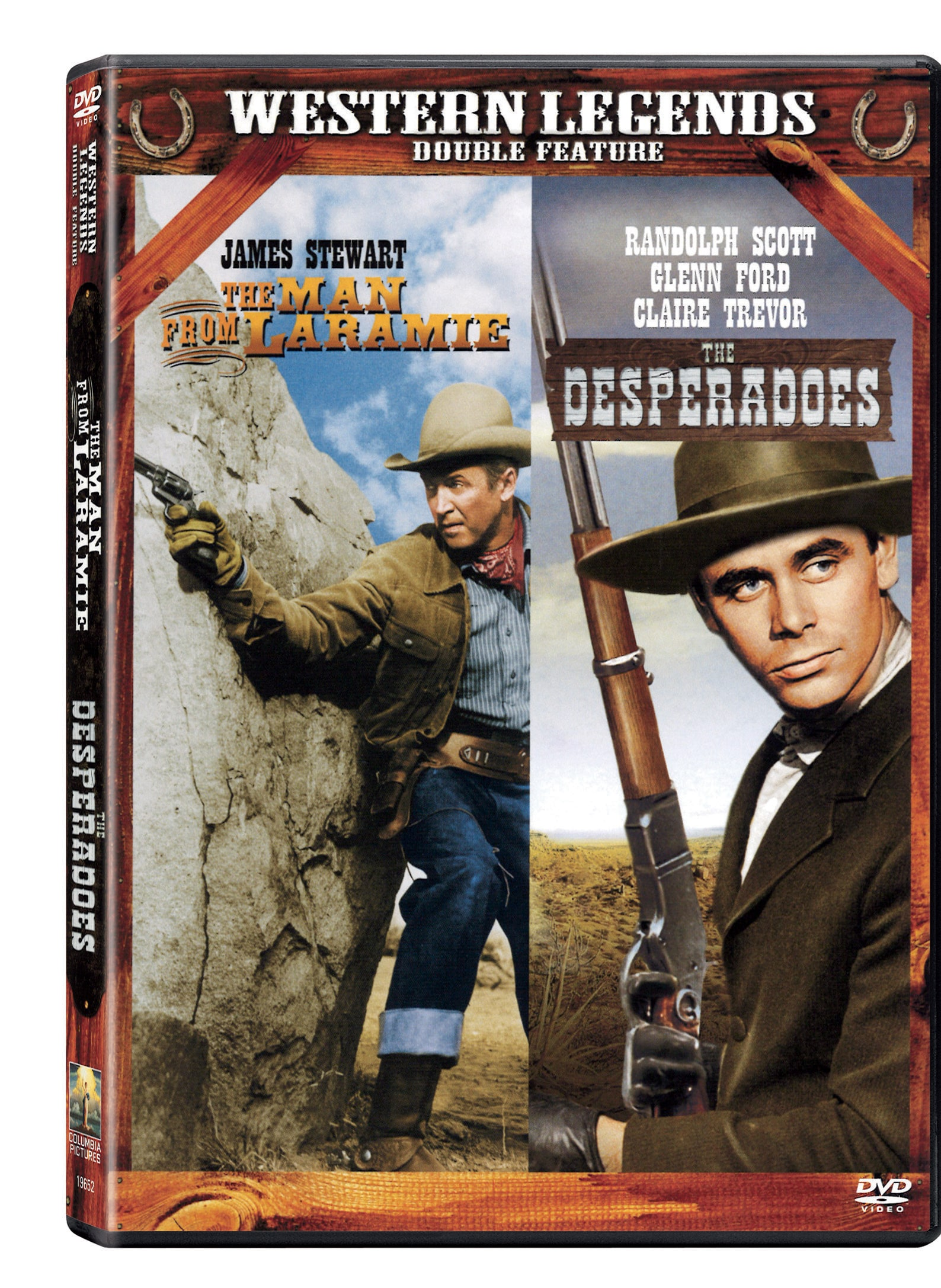 Man from Laramie/The Desperadoes (DVD)