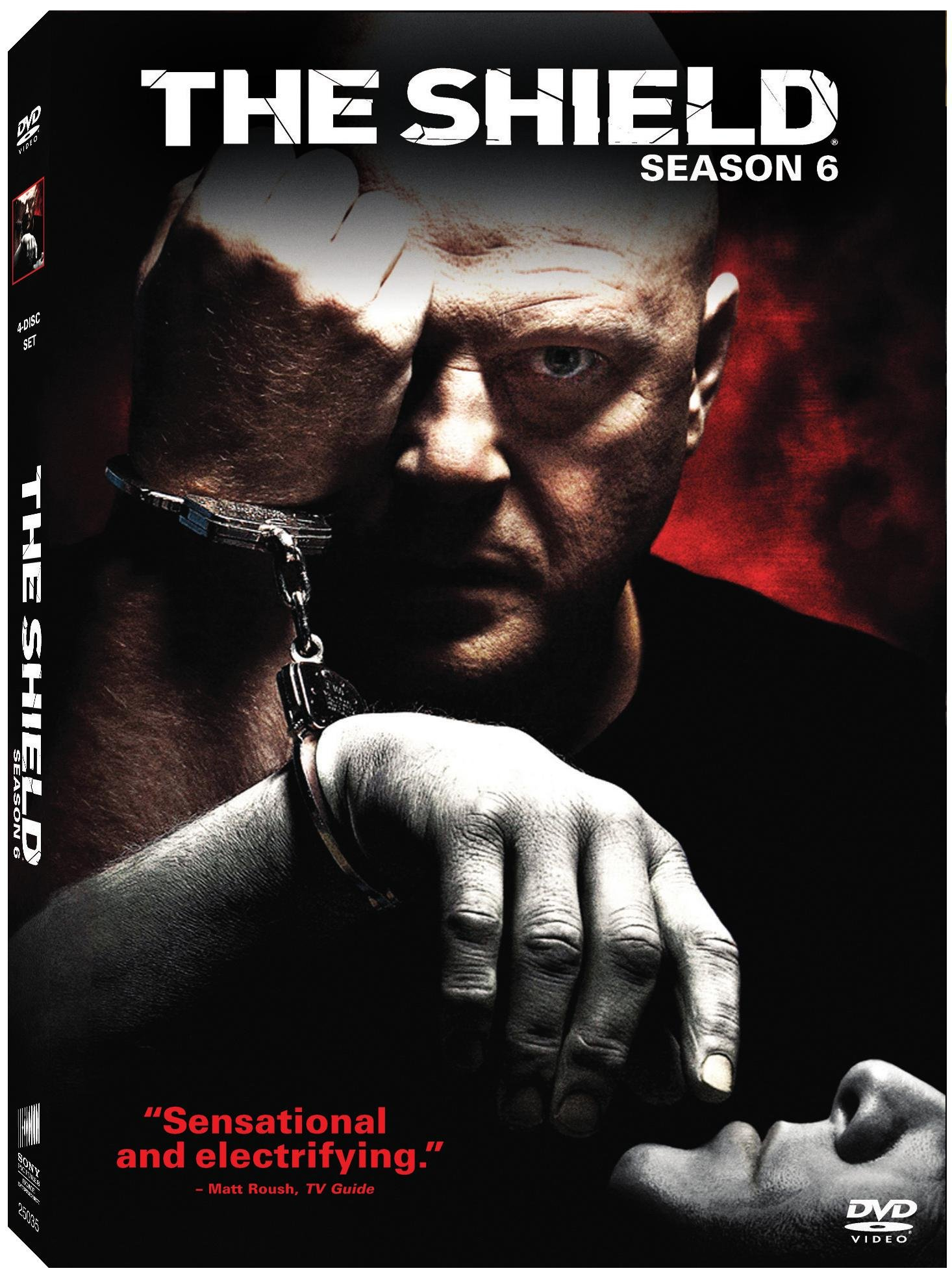 The Shield: The Complete Sixth Season (DVD)