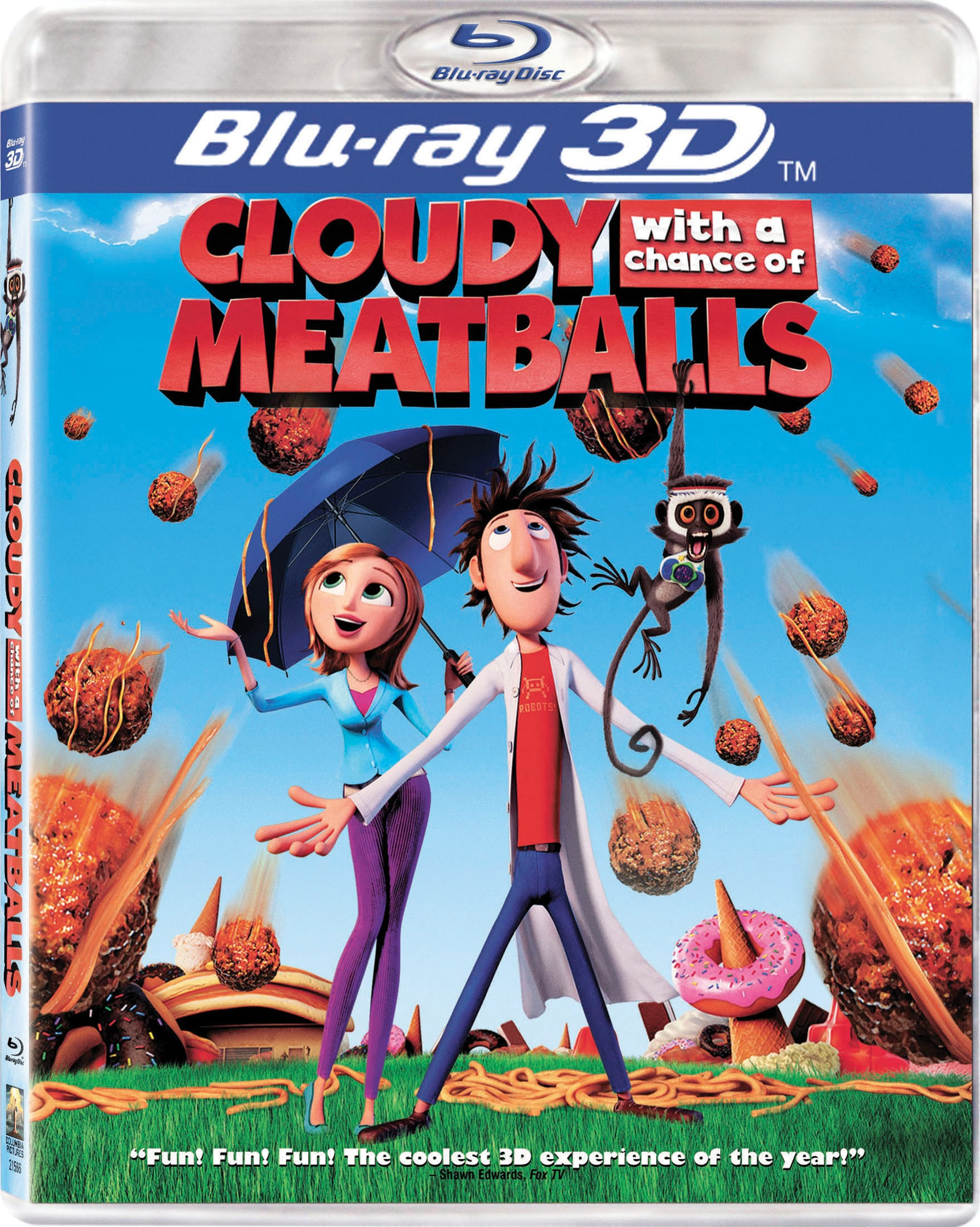 Cloudy with a Chance of Meatballs 3D (Blu-ray Disc)