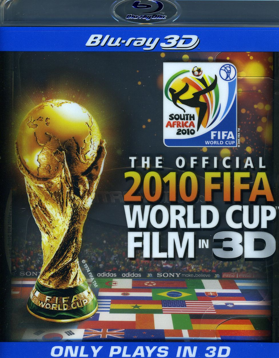 The Official 2010 Fifa World Cup Film in 3D (Blu-ray Disc)