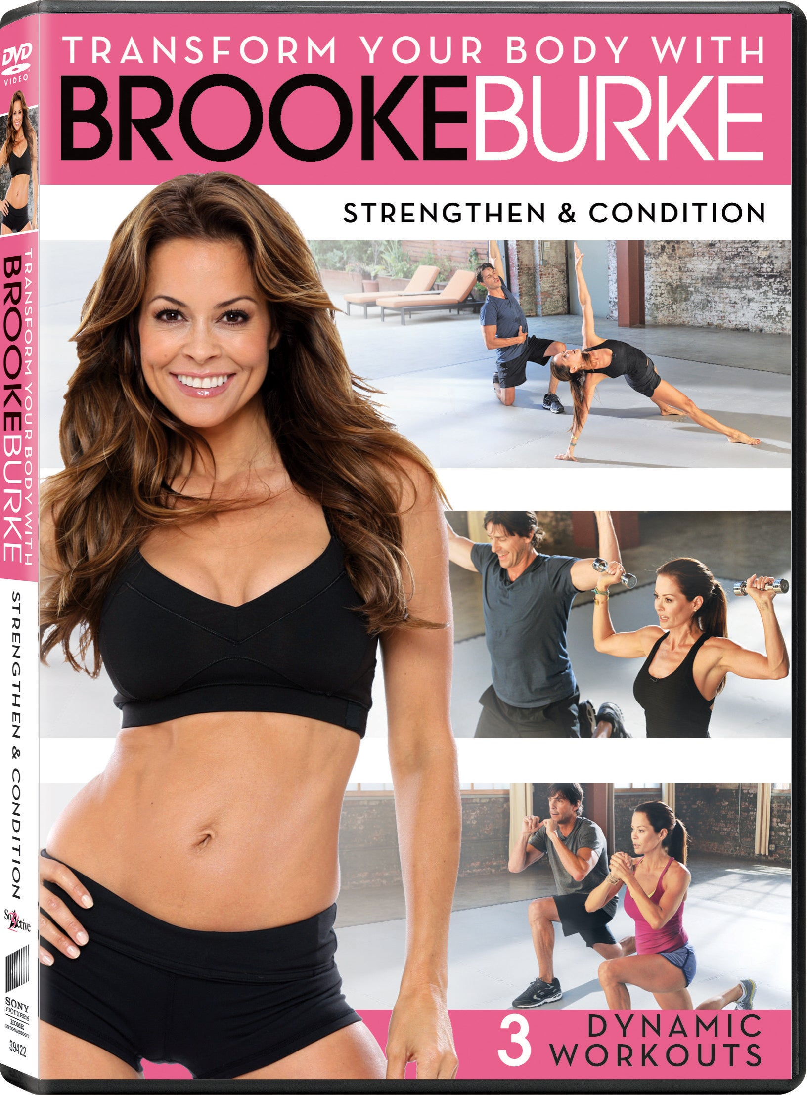 Brooke Burke: Strengthen & Condition (DVD)