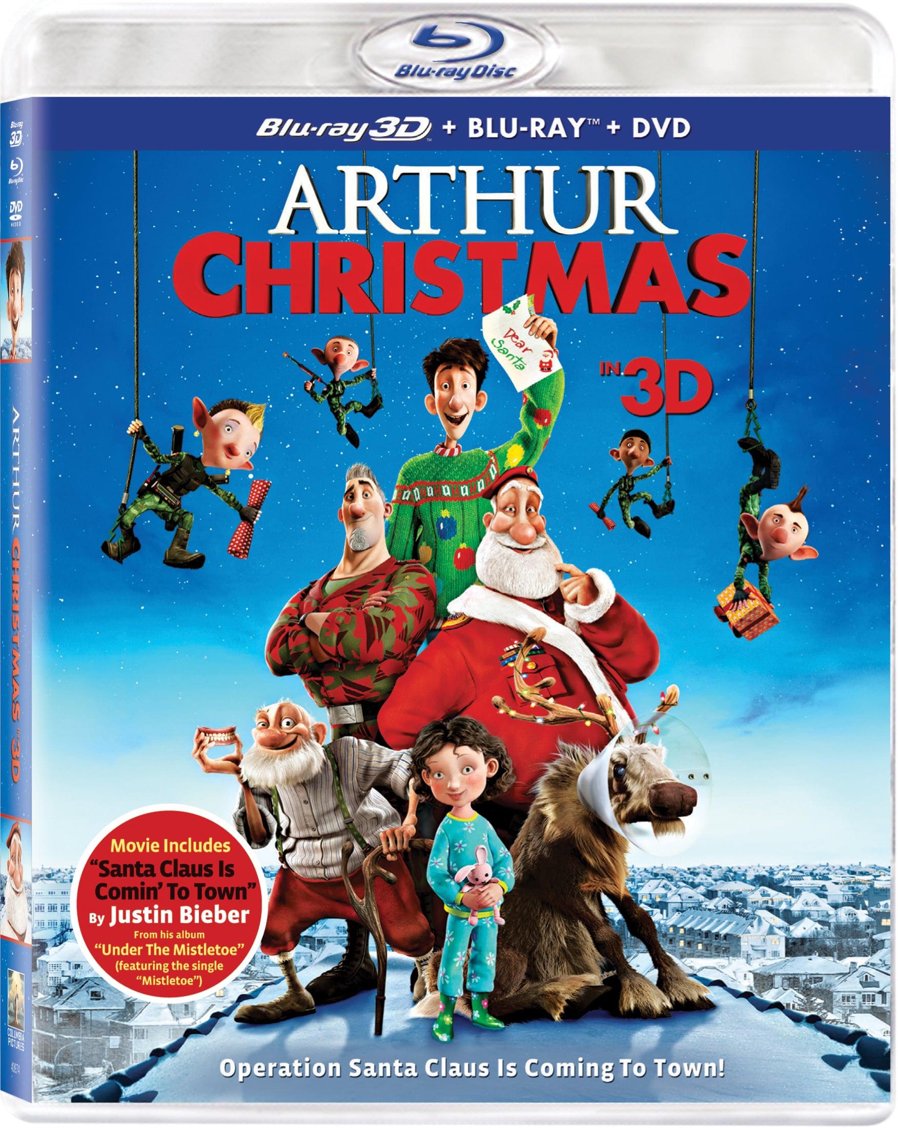 Arthur Christmas (3D) (Blu-ray/DVD)