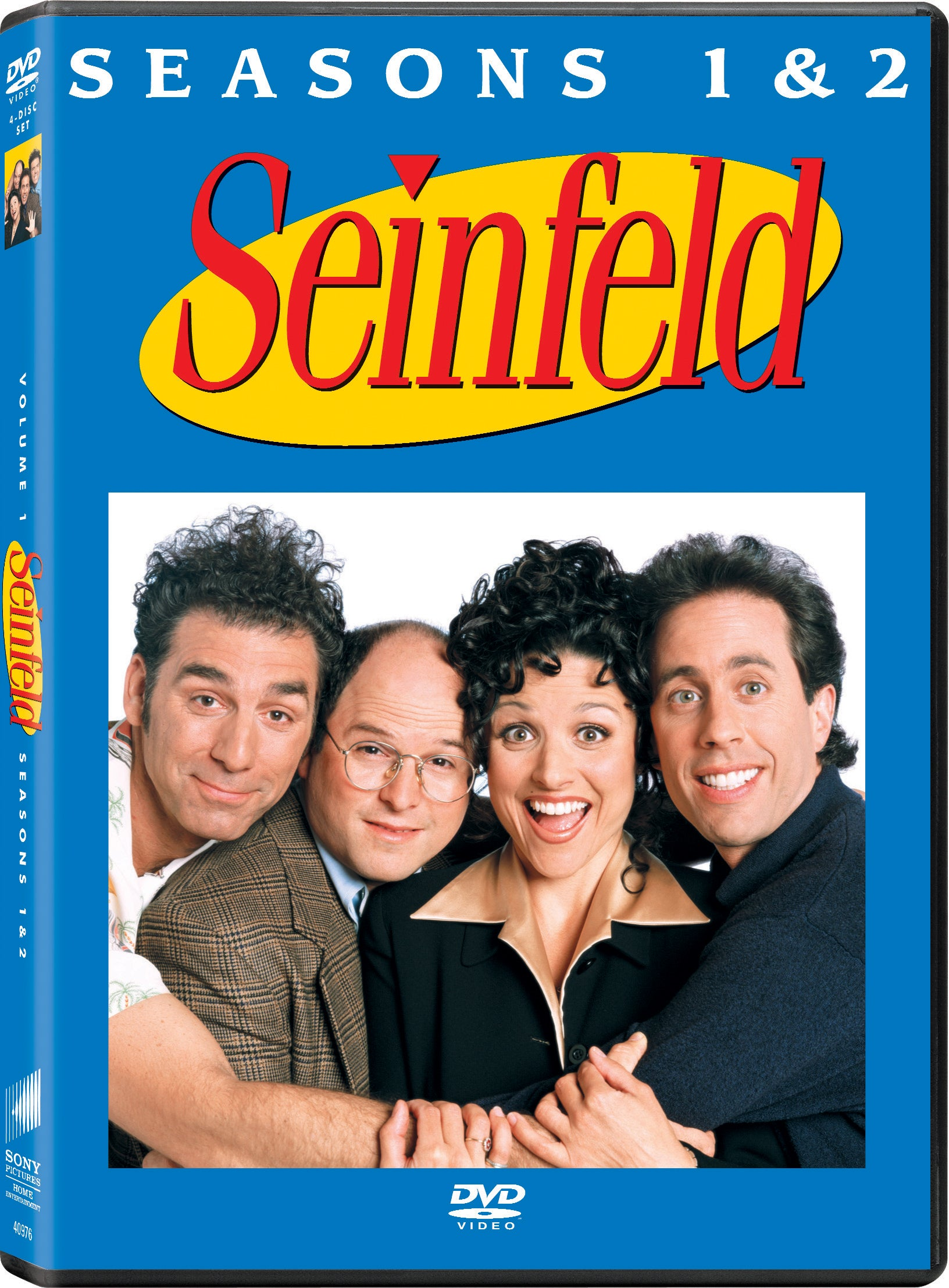Seinfeld: The Complete Season 1 and 2 (DVD)