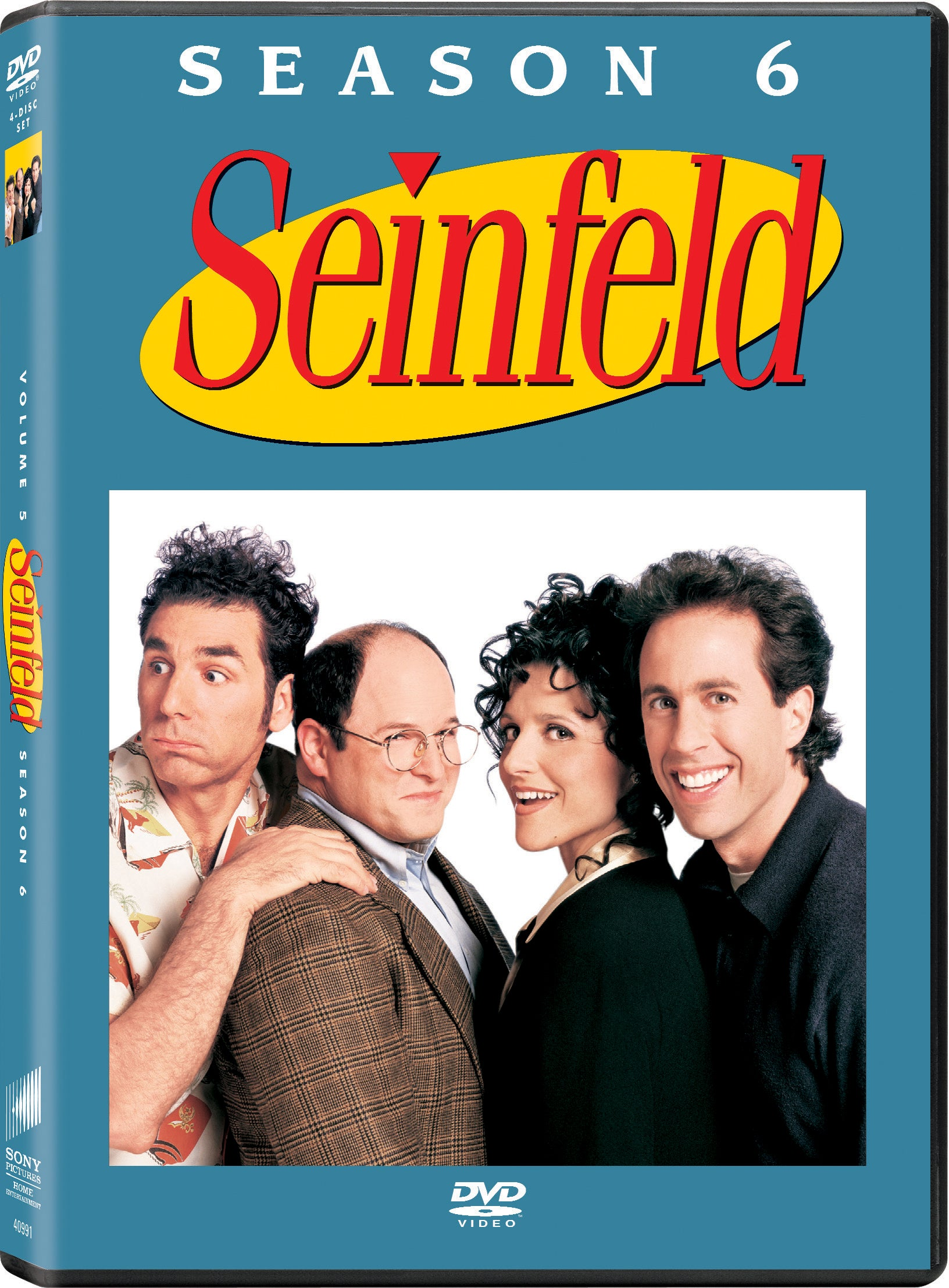 Seinfeld: The Complete 6th Season (DVD) - Thumbnail 0