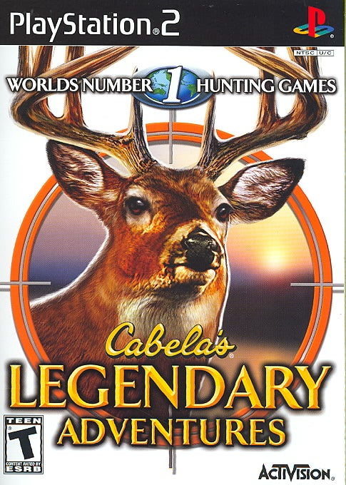 PS2 - Cabela`s Legendary Adventures