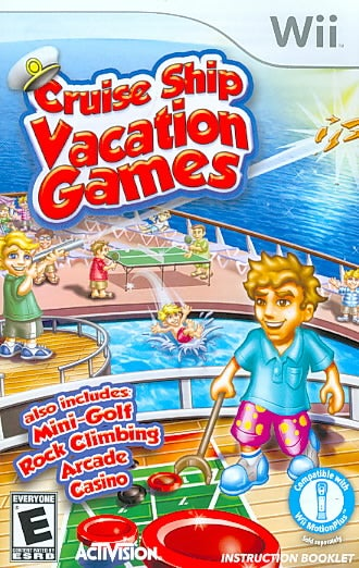 Wii - Cruise Ship Vacation Games - By Activision Inc
