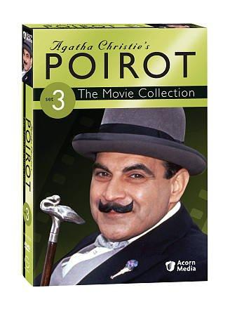Poirot: The Movie Collection Vol 3 (DVD)