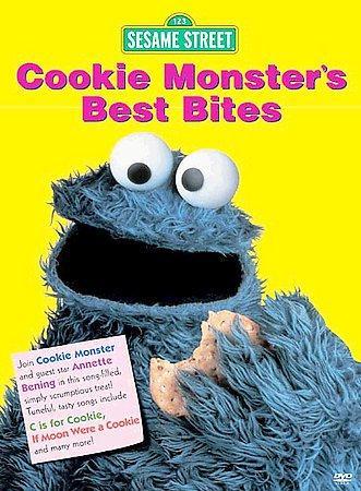 Cookie Monster's Best Bites (DVD)