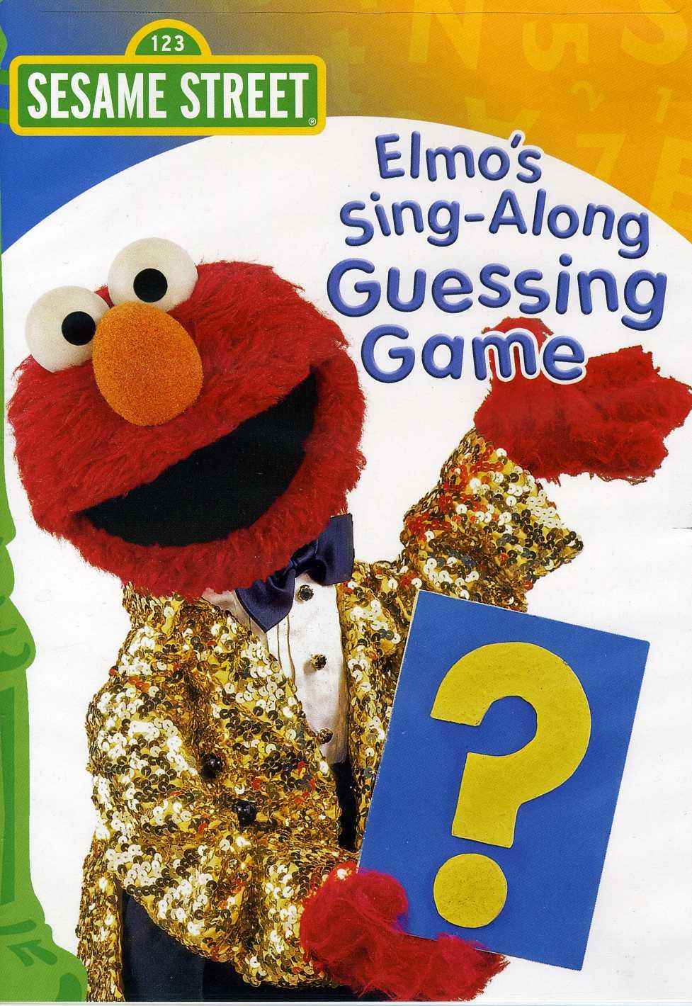 Elmo's Sing-Along Guessing Game (DVD)
