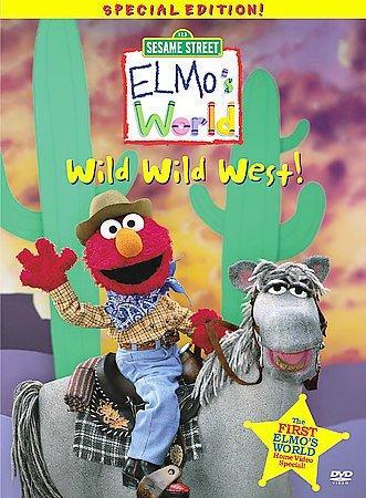 Elmo's World: Wild Wild West (DVD)