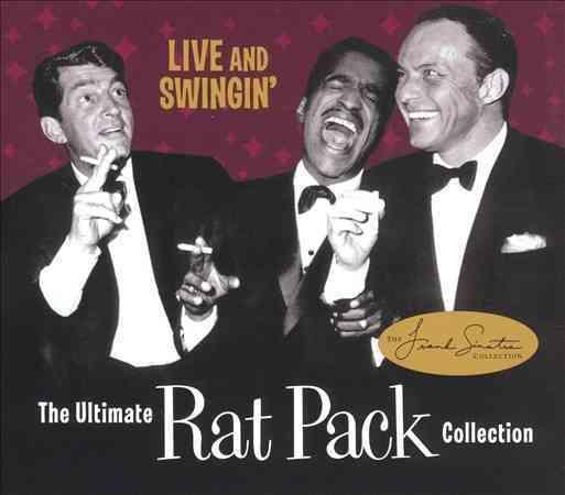 Sammy Davis/Dean Martin/Frank Sinatra - Live and Swingin'-Ultimate Rat Pack