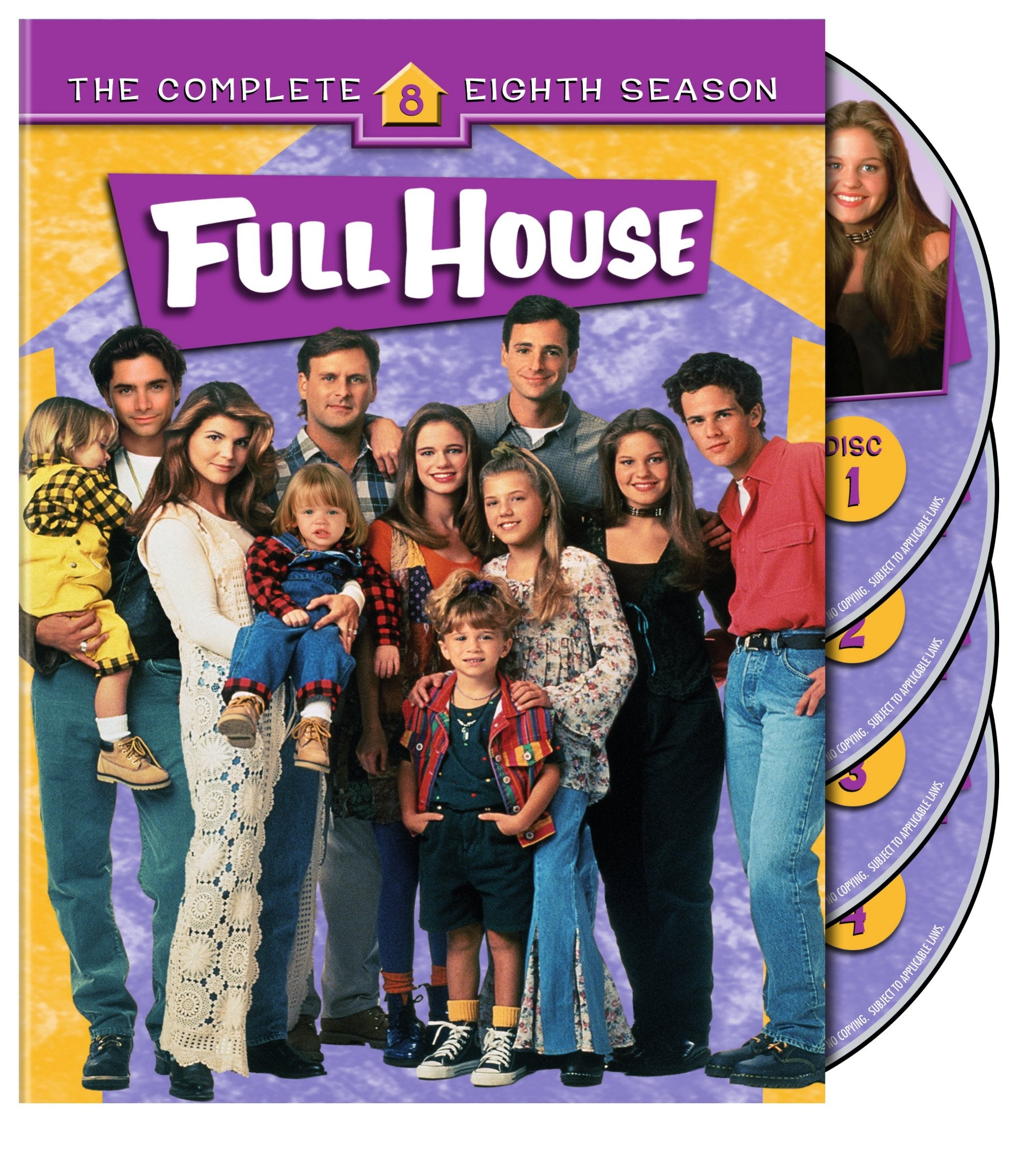 Full House: The Complete Eighth Season (DVD) - Thumbnail 0