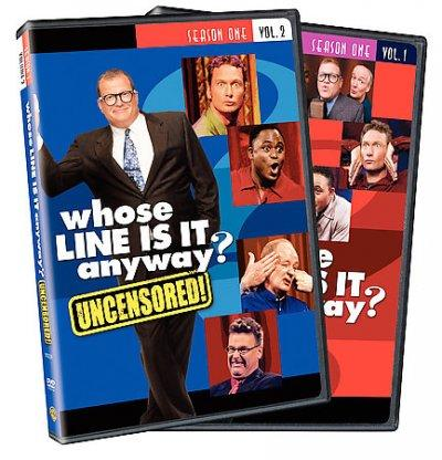 Whose Line is it Anyway: Season 1 Vol 1 & 2 (DVD) - Thumbnail 0