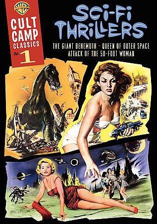 Cult Camp Classics Vol 1 Sci Fi Thrillers (DVD)