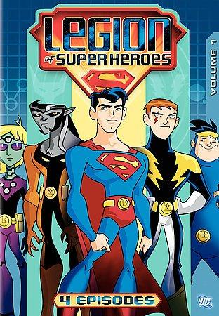 Legion of the Superheroes: Vol 1 (DVD)