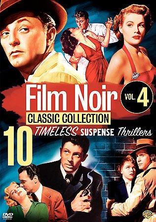 The Film Noir Classics Collection: Vol 4 (DVD)