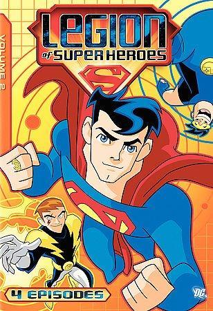 Legion Of Superheroes: Volume 2 (DVD)