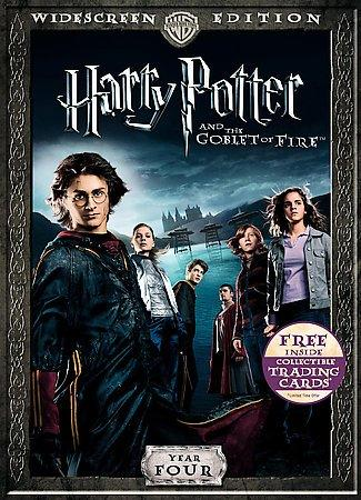 Harry Potter and the Goblet of Fire - Year Four (WS/DVD)