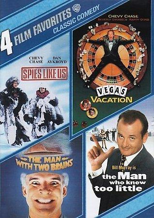 4 Film Favorites: Classic Comedy (DVD)