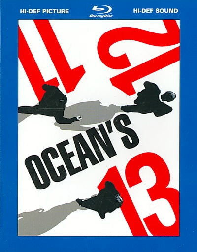Ocean's Eleven, Twelve, & Thirteen Box Set (Blu-ray Disc)